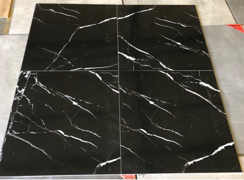 Tuintegels 60x60 Zwart.Hoogglans Vloertegels 60x60 Cm Carrara Zwart Nr 58