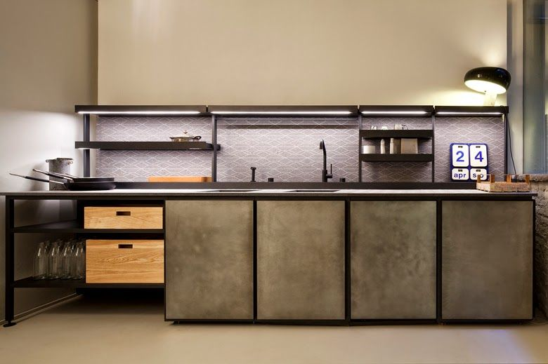 trends in kitchens 2013. Modular Kitchen SALINAS By Boffi Design Patricia Urquiola Trends In Kitchens 2013