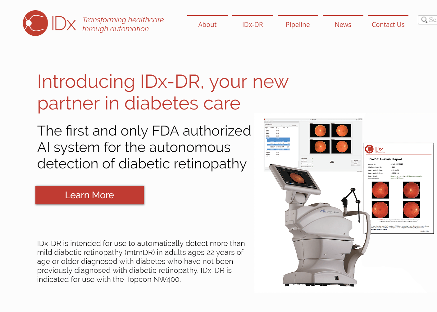 IDx and Topcon Join Forces to Scale AIbased Diagnostic