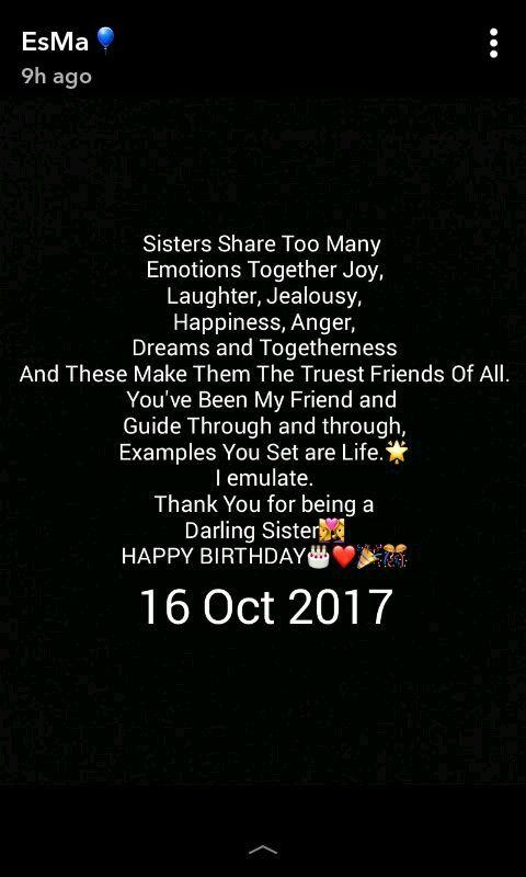 Happy Birthday Sister Birthday Quotes For Her Happy Birthday