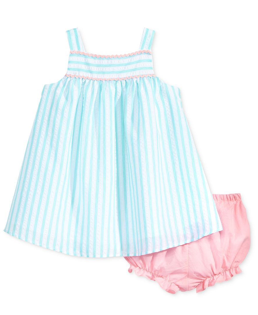 cb04c88c3a061 Marmellata Striped Seersucker Dress, Baby Girls (0-24 months ...
