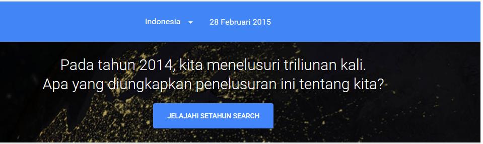 Bumi Rakata Asri : Bloger - Google trend
