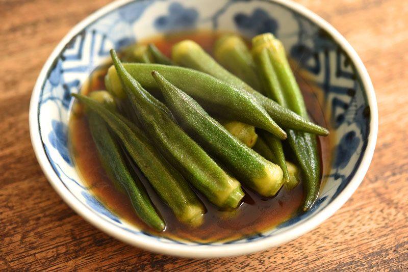 オクラの炒め煮(煮物)のレシピ/作り方:白ごはん.com