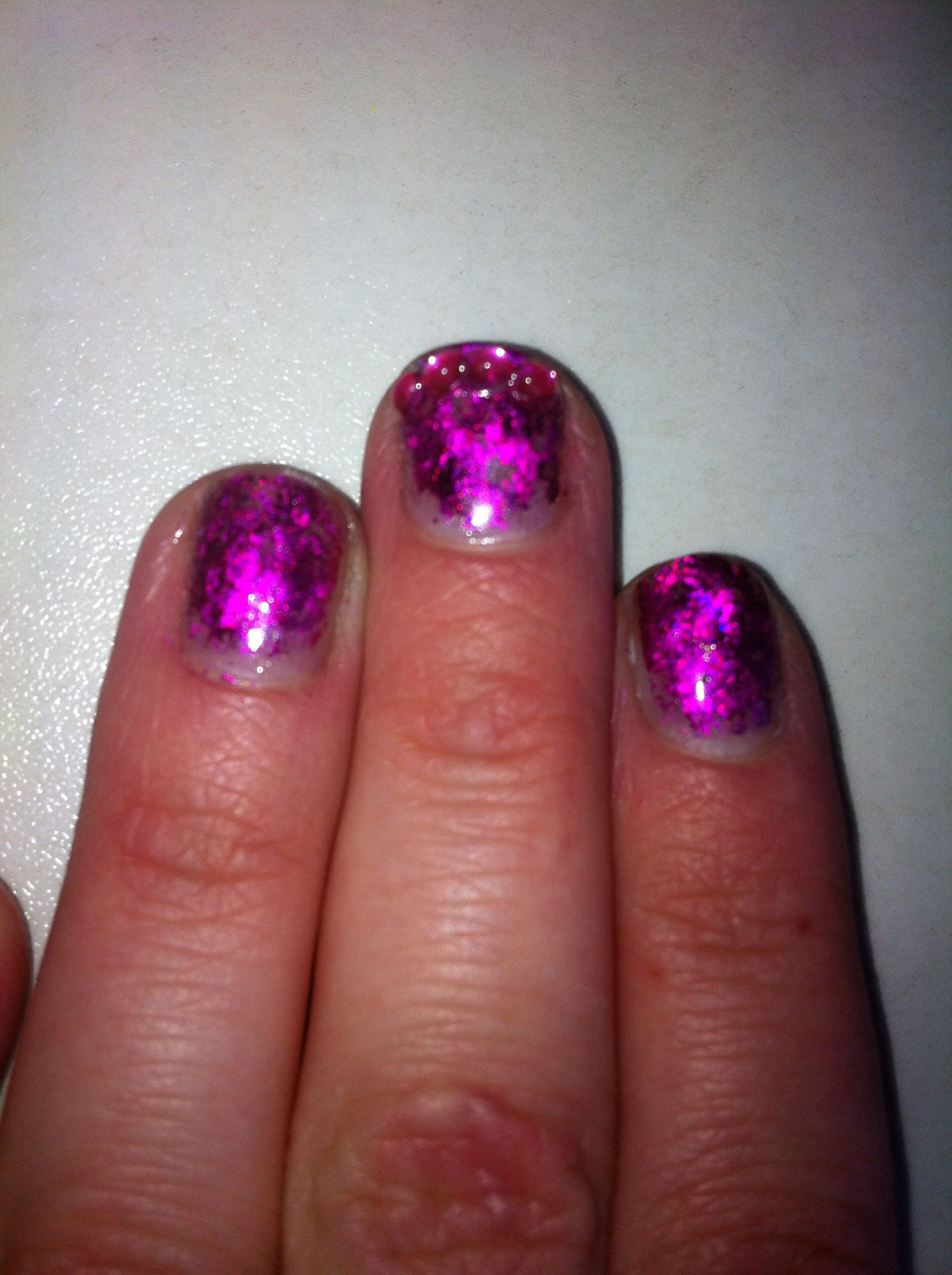 Bit messy nails diy shellac harder than it looks nails pinterest bit messy nails diy shellac harder than it looks solutioingenieria Choice Image