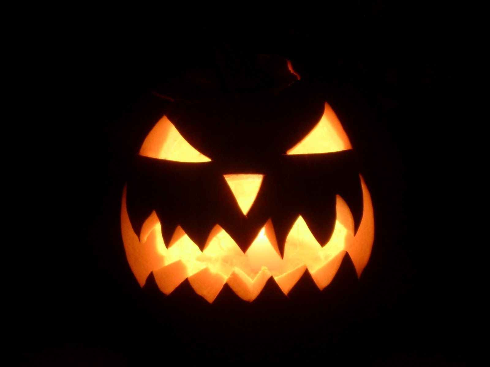 evil face pumpkin template - simple silly scary jack o lantern faces images pictures