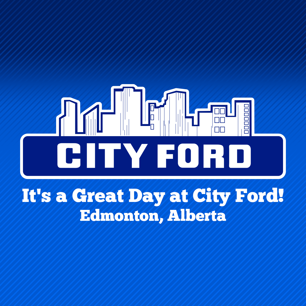 It S A Great Day At City Ford We Are A Ford Dealership In Edmonton With New Used Cars Trucks Suv S Vans For Sale Au Used Cars Ford Sales Van