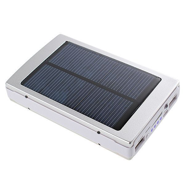 30000mah Phone Mobile Solar Panel Travel Hiking Charger Battery Dual Usb External Power Bank For Iphone For Samsung Solar Panels Solar Power Bank