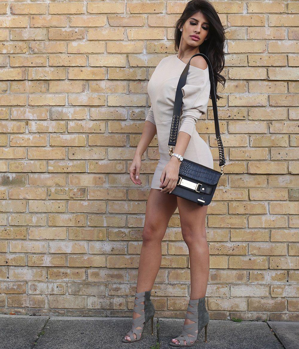 Jasmin Walia wears ALYNA - http://www.publicdesire.com/catalogsearch/result/?q=alyna&utm_source=Pinterest&utm_medium=Social&utm_campaign=Campaign_Olapic