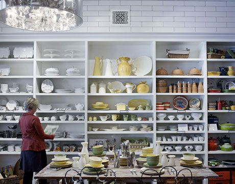 Kitchen Shop shelving tyler florence kitchen shop (mill valley, ca) | grocery