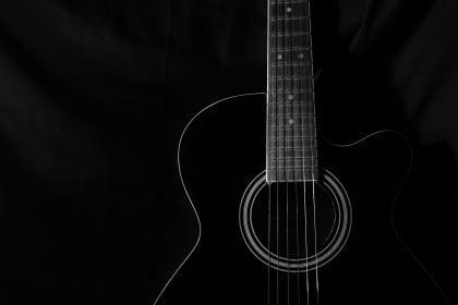Guitar Hd Wallpaper Guitar Acoustic Guitar Black Wallpaper