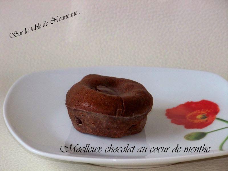 Petit gateau chocolat original