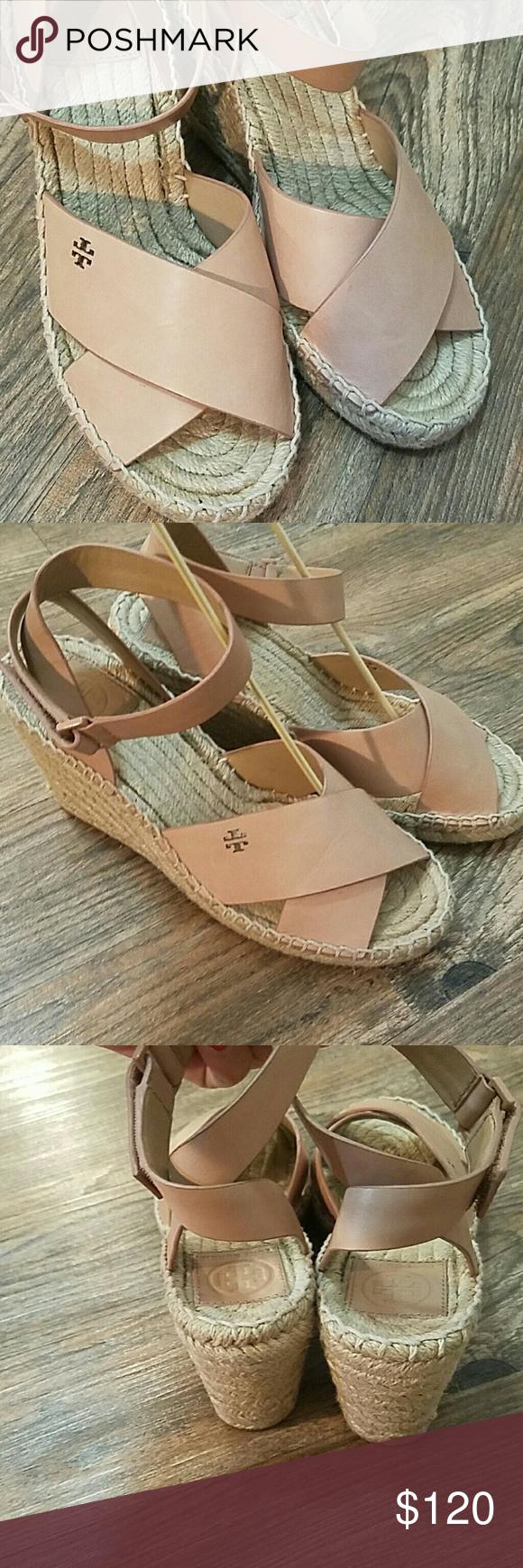 05269eea3bb Tory Burch Shoes | Tory Burch Bima Espadrille Wedge Sandal | Color ...