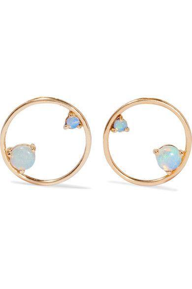 10 Karat Gold Erfly Fastening For Pierced Ears Net A Porter Com