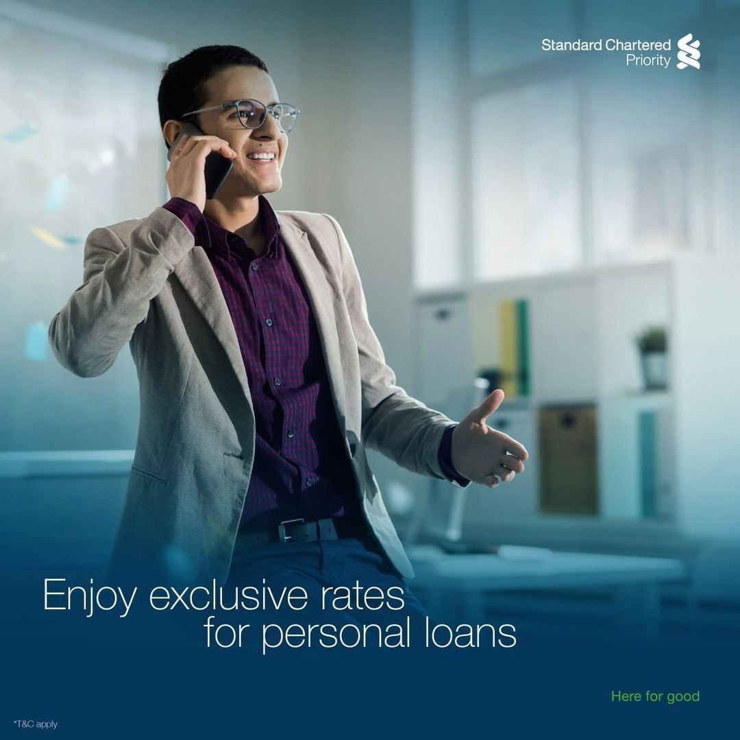 Enjoy Exclusive Interest Rates For Personal Loans From Standard Chartered Bank Business Advertisement Sri Lanka 1000 In 2020 Personal Loans Interest Rates Loan
