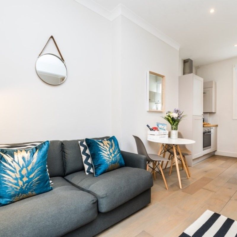 Small Living Space Modern London Serviced Apartment