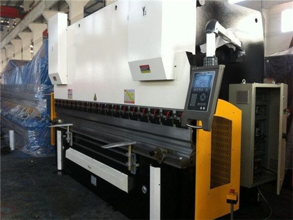 Wc67y 125 3200 Sheet Steel Metal Hydrolic Bending Machine Wrought Iron Image Of Wc67y 125 3200 Shee Cnc Press Brake Press Brake Machine Hydraulic Press Brake