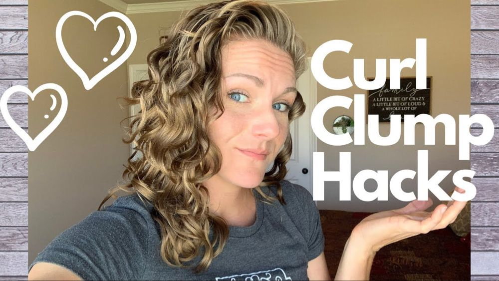 Curl Clump Hacks How To Get Your Wavy Curly Hair To Clump 2a
