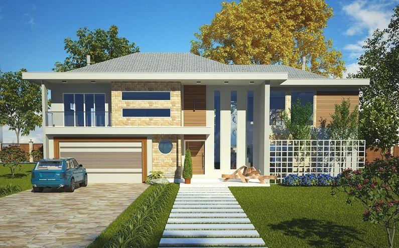 Modelos de casas de dos pisos modernas modelos casas for Casas modernas de dos pisos 2017