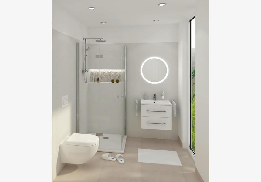 Badezimmer Sanfter Morgen Helle Badezimmer Badezimmer Bad