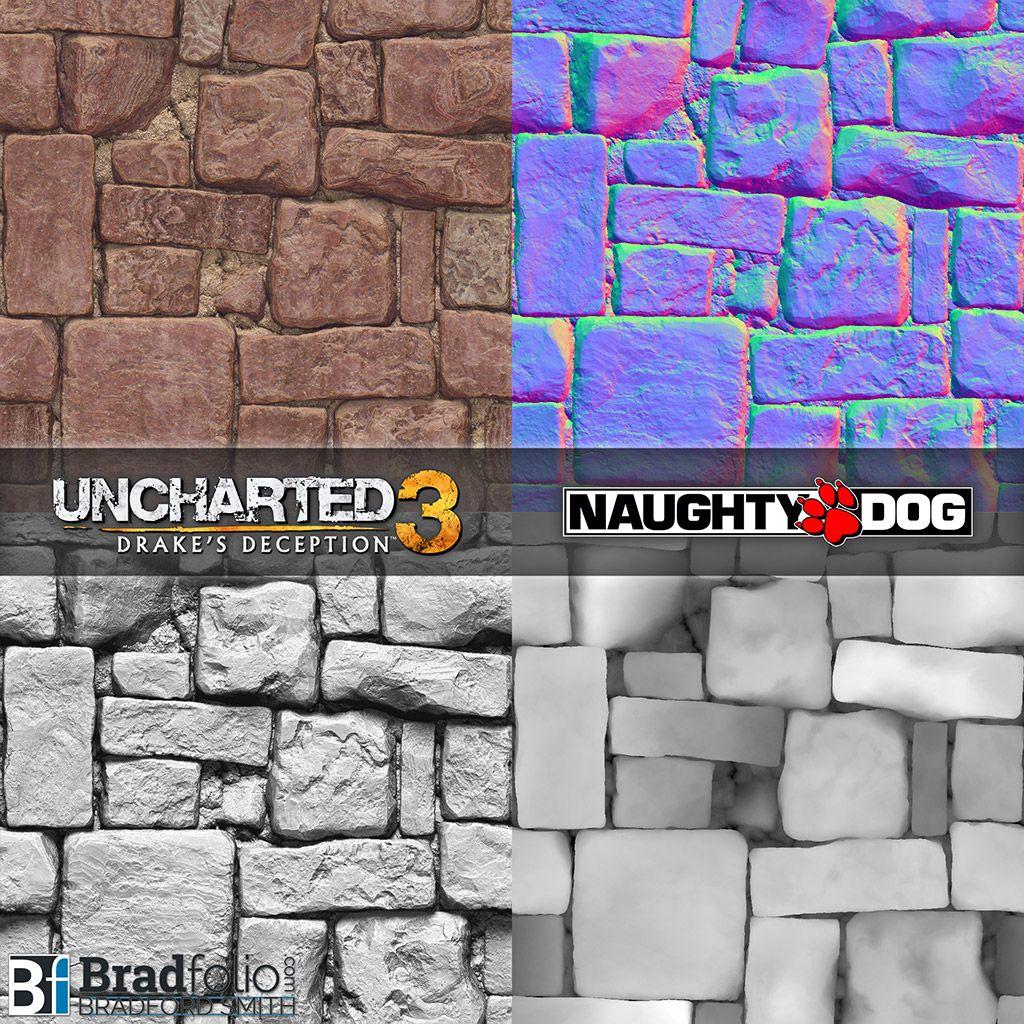 Uncharted 3 Drakes Deception Bradfolio Game Texturesmaterials
