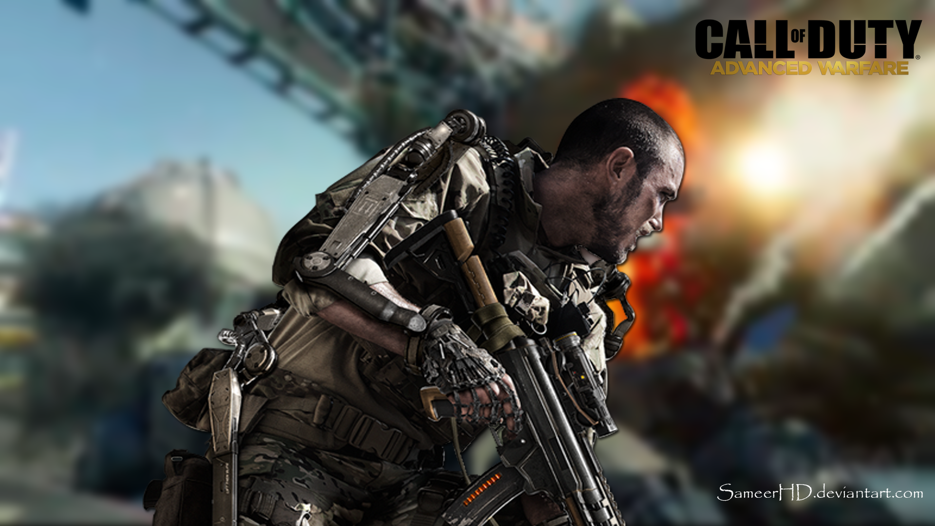 IPhone S C Call Of Duty Advanced Warfare Wallpapers HD