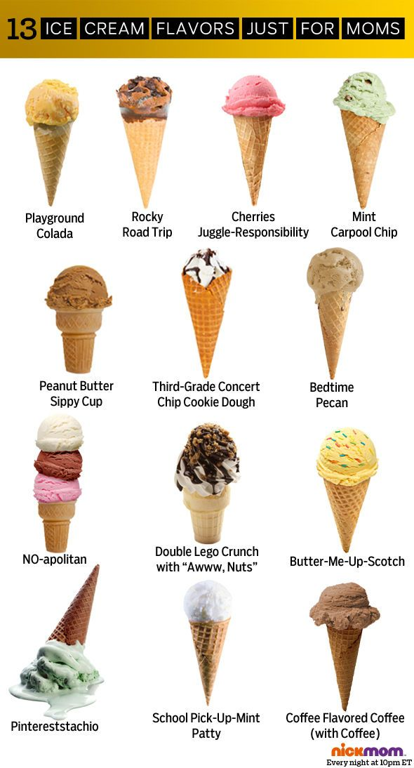 13 Ice Cream Flavors Just For Moms More Lols Funny Stuff For