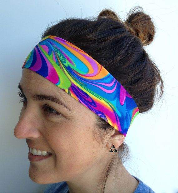 HEAD-BANZ, Spandex headband, sweat band, non slip, running headband ...