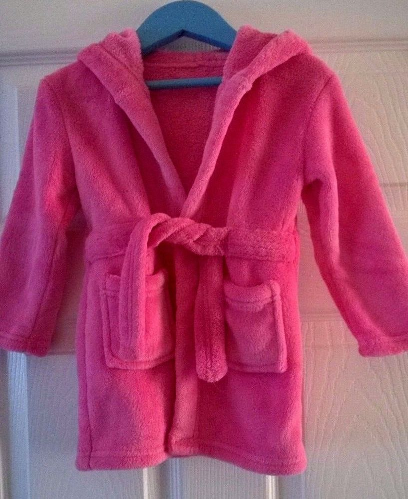 Baby Girls Dressing Gown Robe 18-24 Months Pink #George | New & Used ...