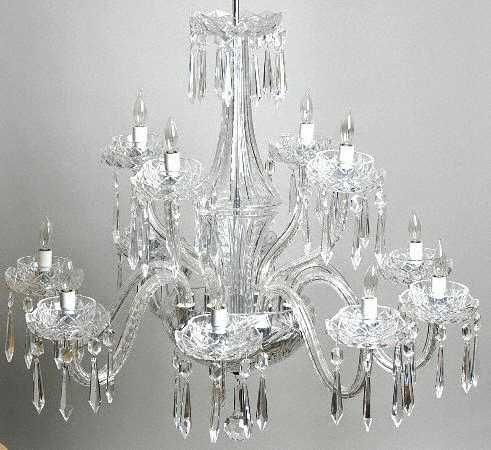 Waterford comeragh cut 12 arm chandelier waterford crystal waterford comeragh cut 12 arm chandelier aloadofball Images