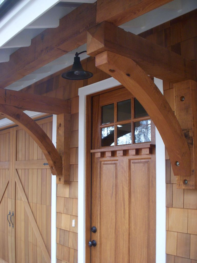 Lake Martin Alabama carriage house detail of door designed by