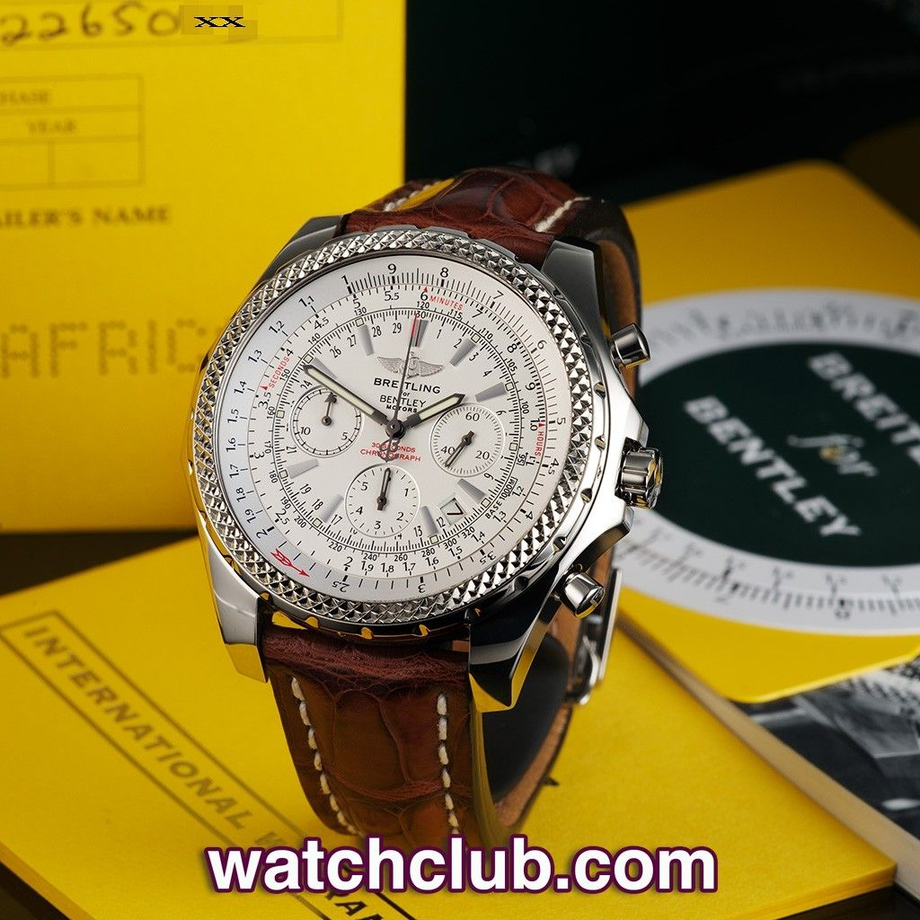 "Breitling For Bentley Motors Special Blue Dial Edition: Breitling Bentley ""Special Edition"""
