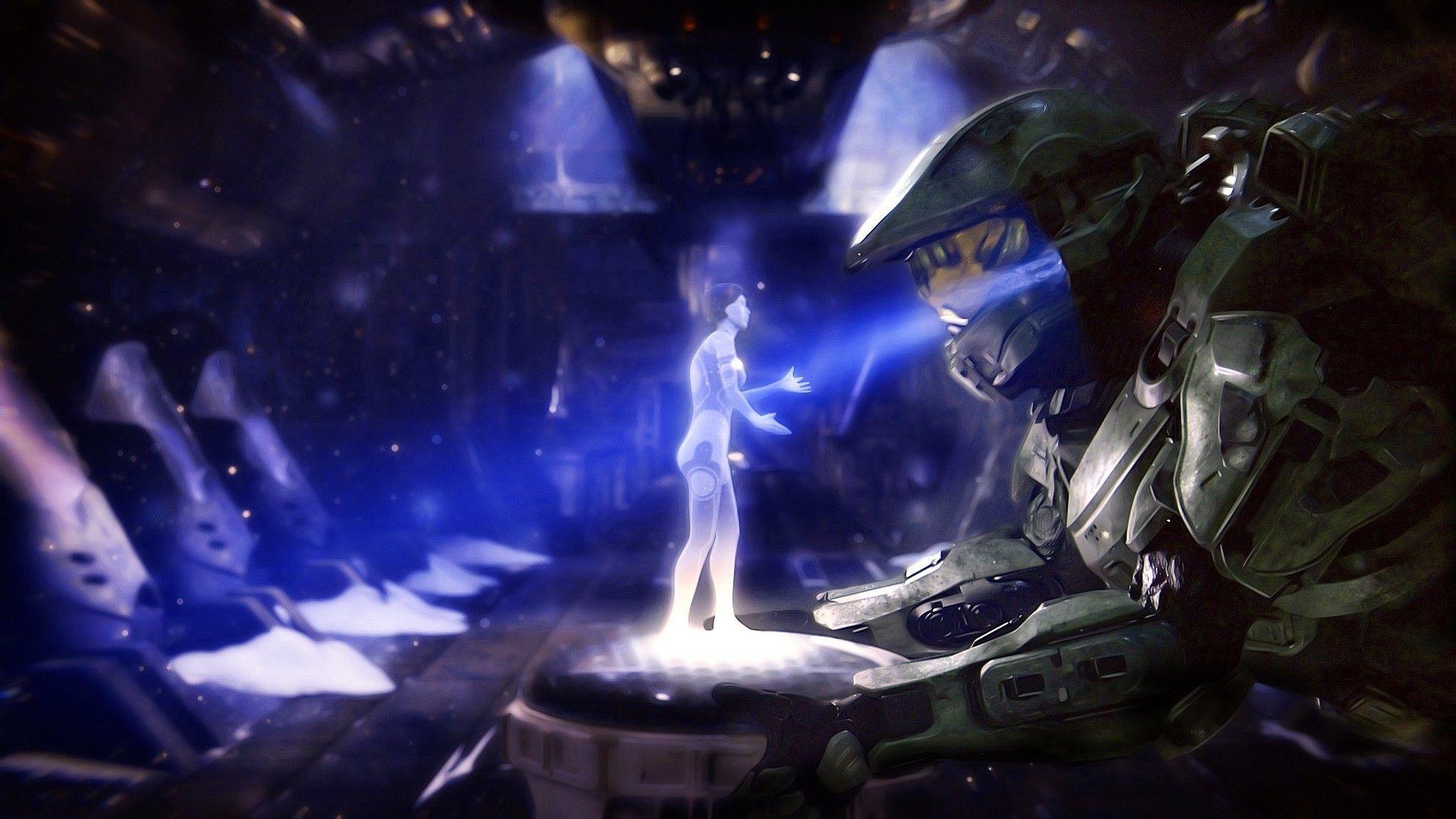 1920x1080 Halo Cortana Wallpaper Halo Master Chief