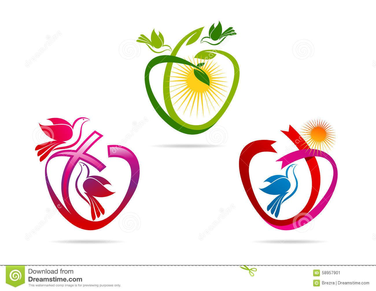 Dove peace symbol history choice image symbol and sign ideas green heart logolove shape ribbon with dove symbol pigeon green heart logolove shape ribbon with dove biocorpaavc