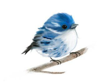 Photo of Lovebird Print Lovebirds Painting Pair of Love Birds | Etsy – #die #ETSY #love …