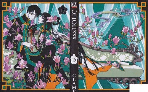 CLAMP, xxxHOLiC, Yuuko Ichihara, Kimihiro Watanuki, Manga Cover ...