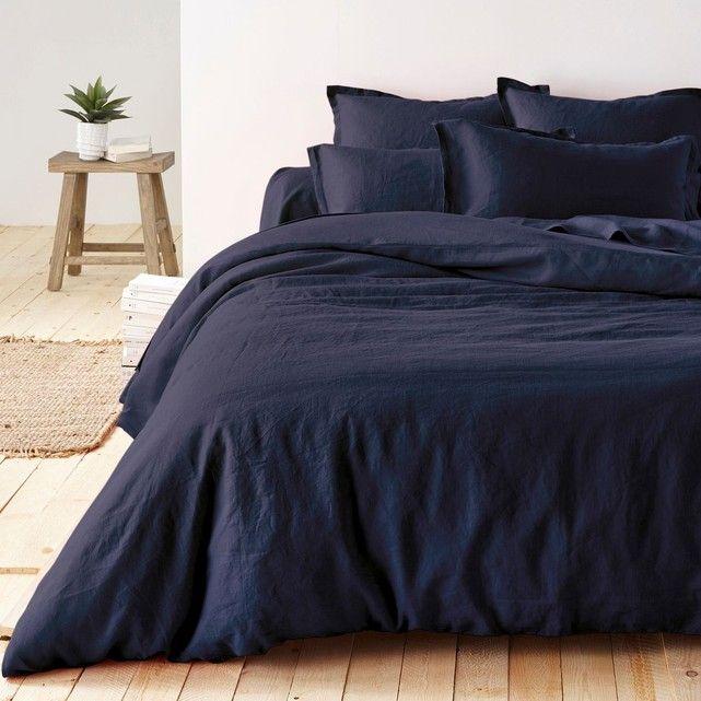 linge de lit pur lin lavé La Redoute Interieurs Linge de lit Lin lavé Pur lin lavé qualité  linge de lit pur lin lavé