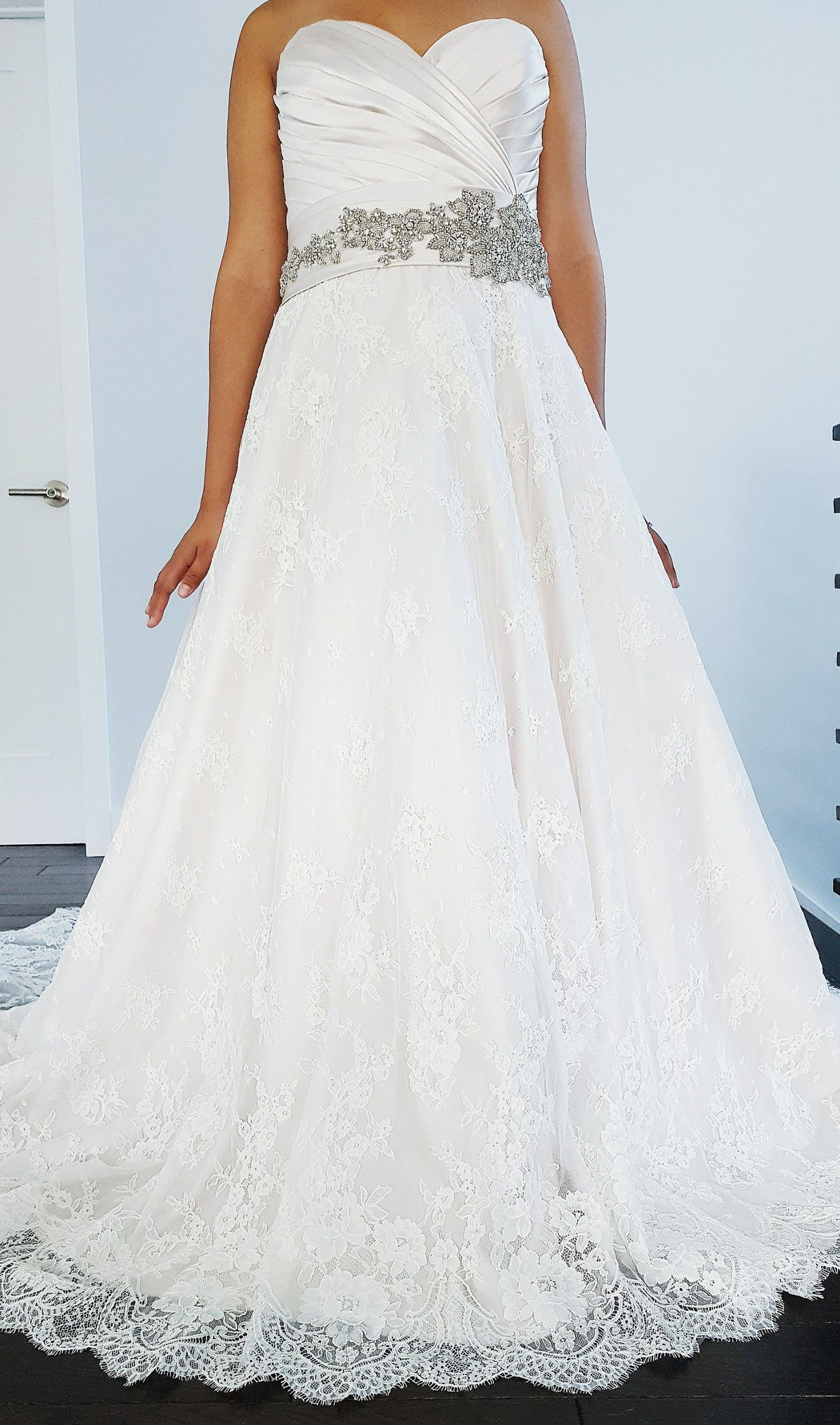 Have Plus Size Wedding Gowns Like This Custom Made To Order With Any Changes You Need