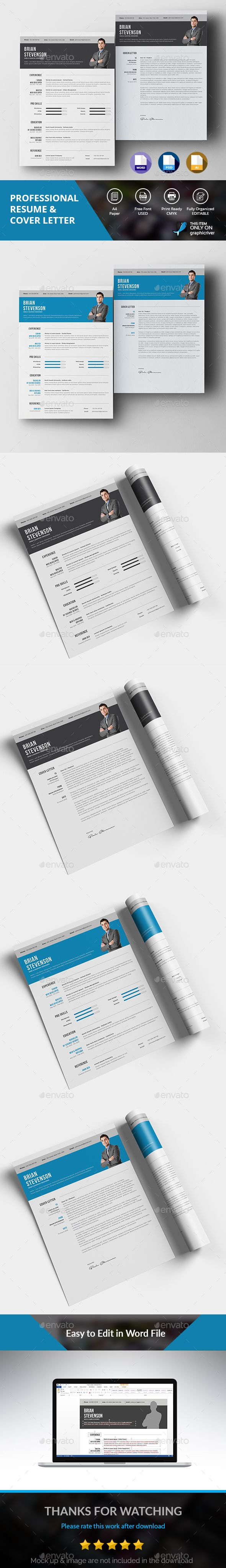 Clean Resume Download%0A Clean Resume Download Clean Resume Resumes Stationery Download here https  graphicriver