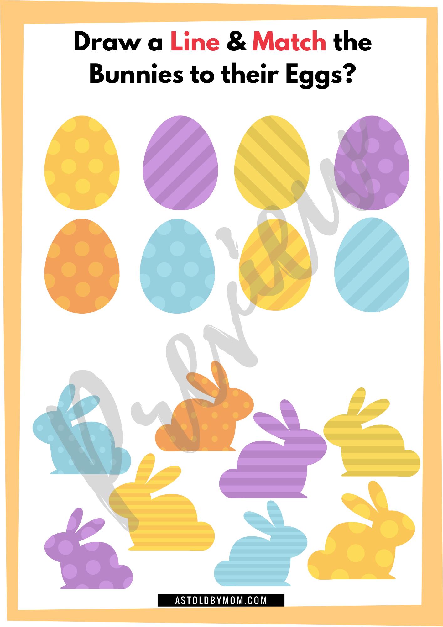 Free Easter Matching