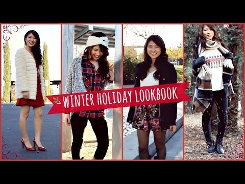 Winter Outfit Ideas Lookbook - YouTube