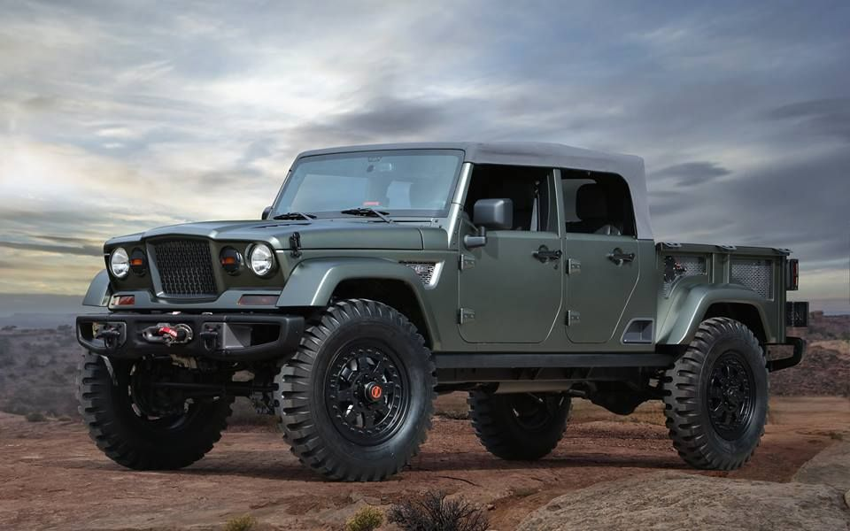 Seven New Jeep Brand Concept Vehicles Roll Into Moab The Jeep