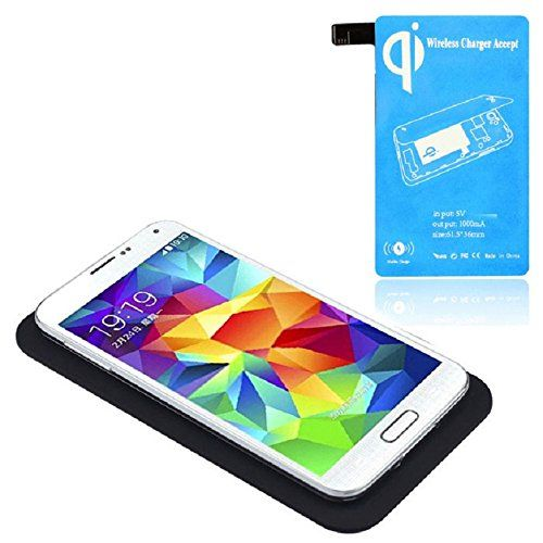 Tonsee Qi Wireless Charger Charging Pad Receiver Kit For