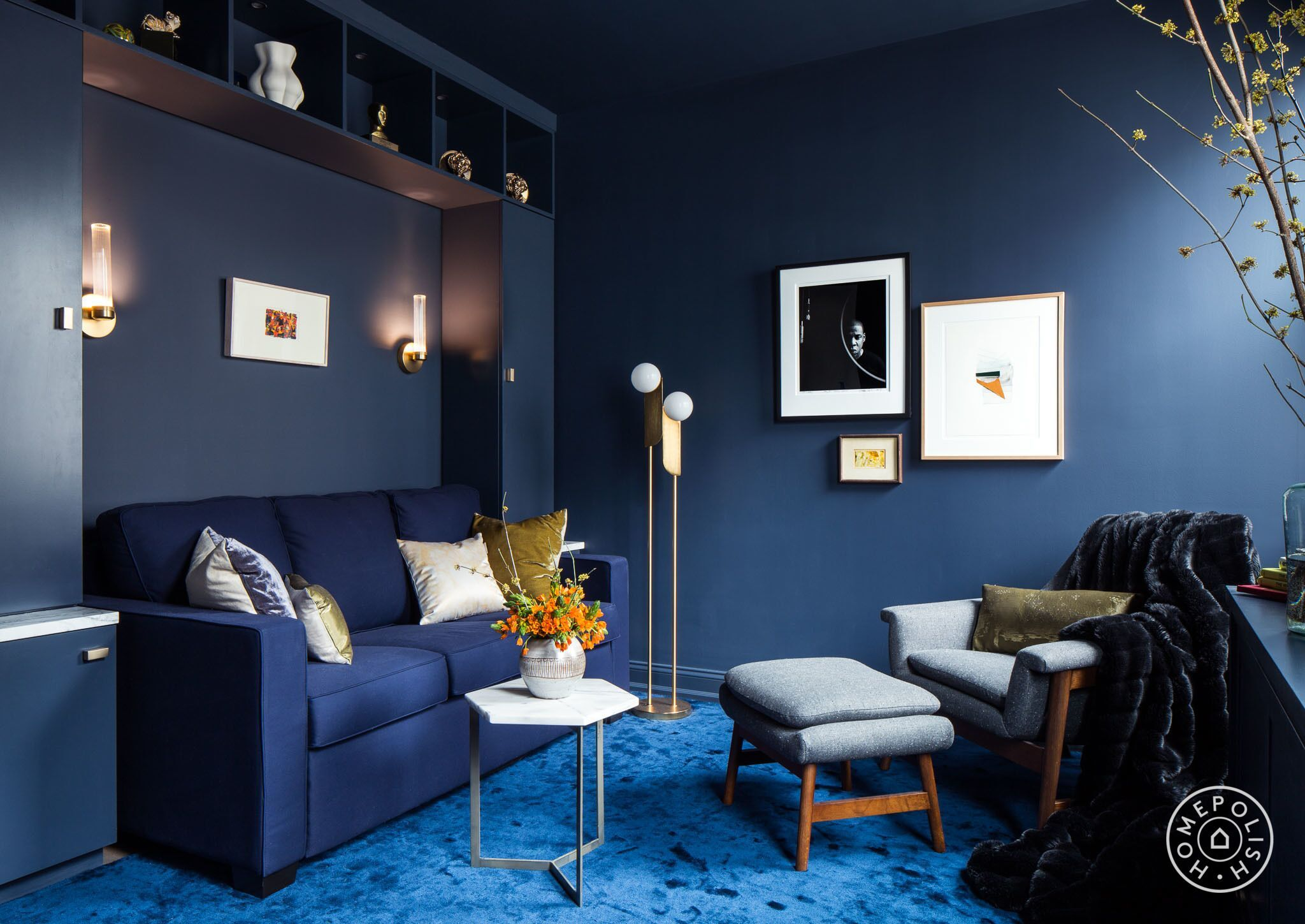 Cool for a pair of nyc creatives living rooms pinterest room