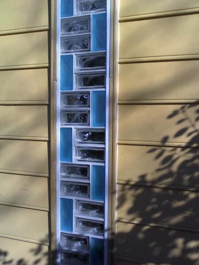 TAFCO WINDOWS 8 in. x 6 in. x 3-1/8 in. Ice Pattern Glass Block 8/CA GB863I-8 at The Home Depot - Mobile