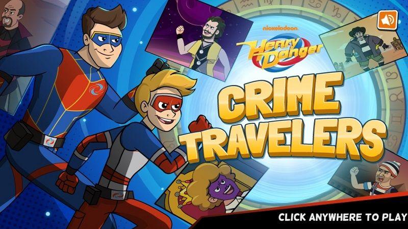 Henry Danger Crime Traveler Jogos