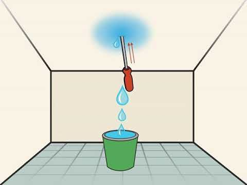 Best How To Stop A Leak In The Ceiling Ceiling Leak Roof 400 x 300