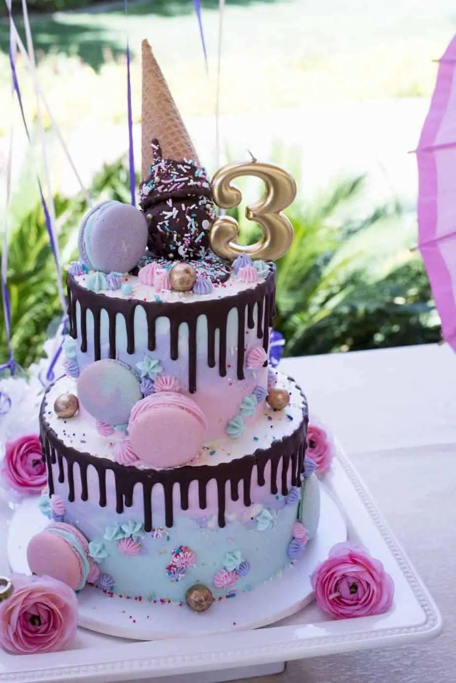 Best Cake Ideas For Girls Birthdays In 2021 Birthday Cake Kids Girls Little Girl Birthday Cakes Pretty Birthday Cakes