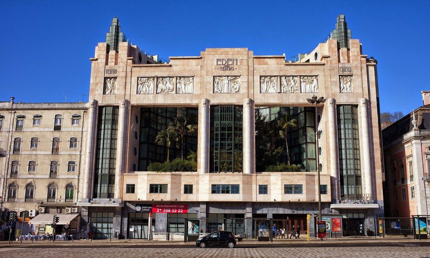 The Best European Cities For Art Deco Design Lisbon Eden Teatro  # Muebles Eden En Las Palmas