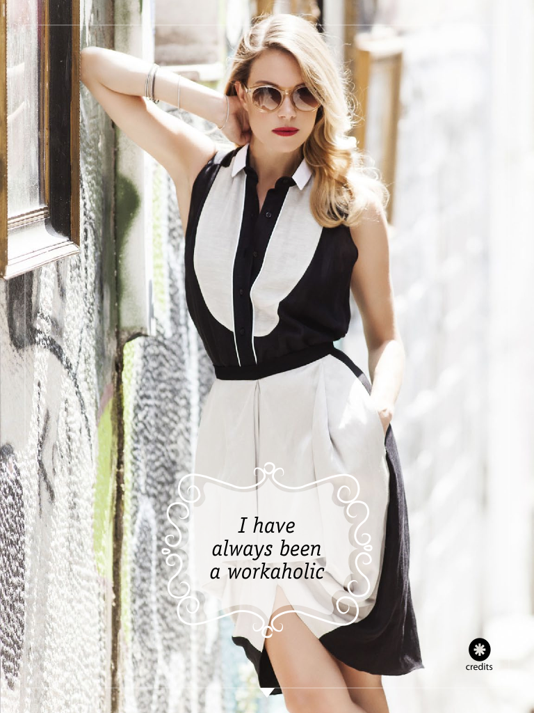 workaholic and beautiful fashion workshop by vicky kaya