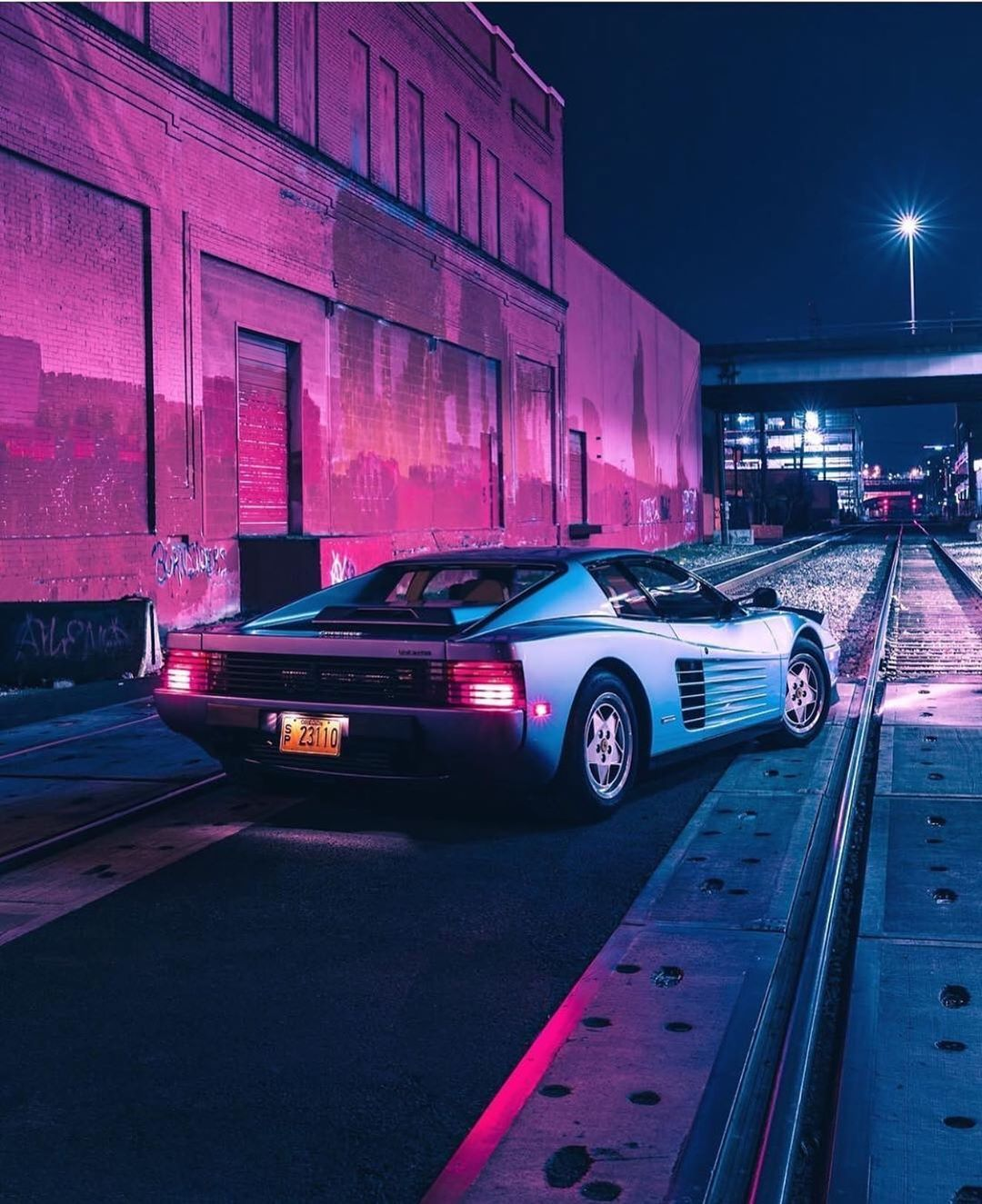 Lost Motors On Instagram The Car Of The 80s Ferrari Testarossa